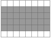 Grid filled with gray pixels